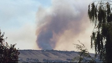 Officials expect full containment of Crystal Fire near Wenatchee by Monday afternoon