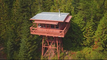 Fire lookout in North Idaho transformed into Airbnb