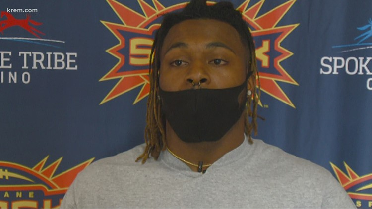 Seattle Seahawks legend Marshawn Lynch's brother plays for the Spokane Shock