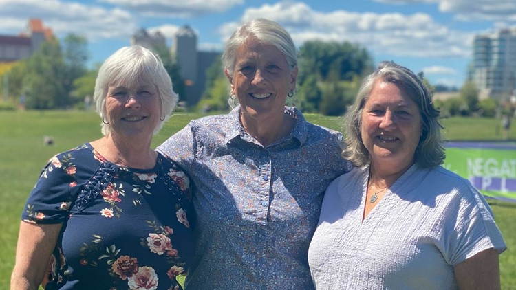 'We're in this together': Best friends of more than 50 years reunite for CDA Marathon