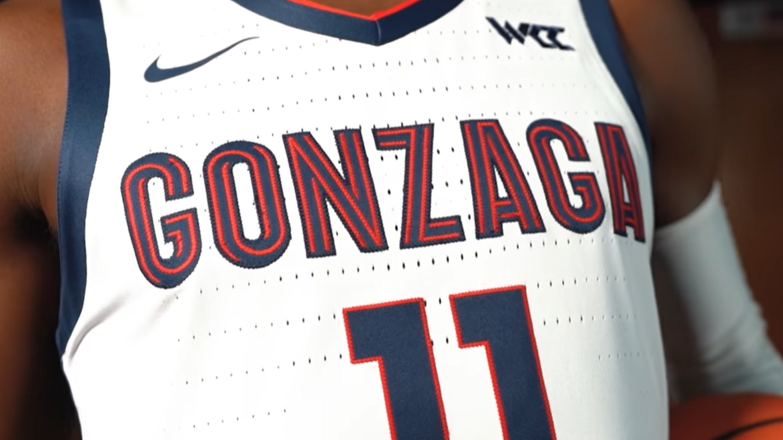 New year, new look': Gonzaga basketball unveils new jerseys   krem.com