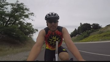 Spokane Ironman athlete competes to raise suicide prevention awareness