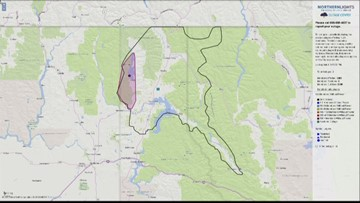 Power outages affect North Idaho, Eastern Washington residents after overnight snow