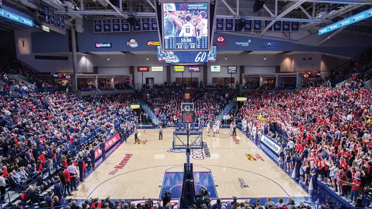 Tickets sold out for Gonzaga's Kraziness in the Kennel