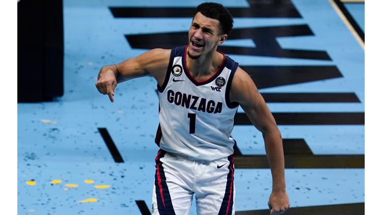 A look back at what Gonzaga accomplished during historic 2020-2021 season