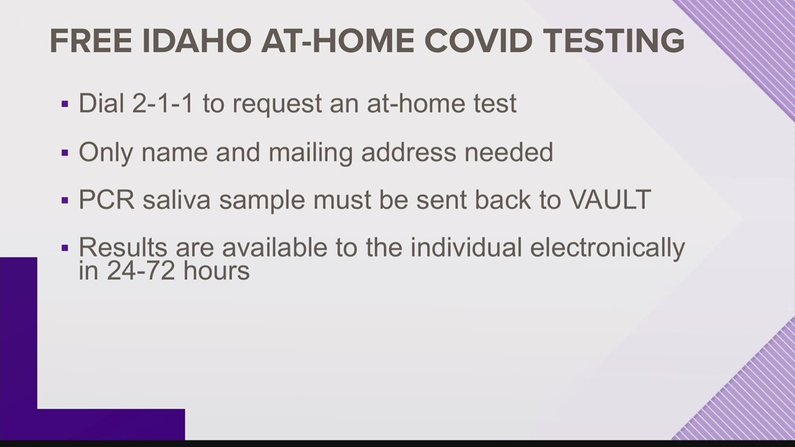 At-home COVID-19 tests available in Idaho