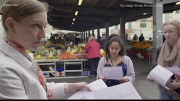 Gonzaga study abroad students make plans to return home from Italy