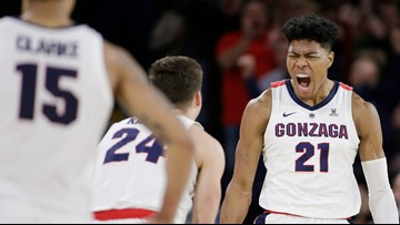 Clarke leads No. 4 Gonzaga over Saint Mary's 94-46