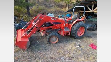 Okanogan County deputies seize several stolen vehicles, attachments