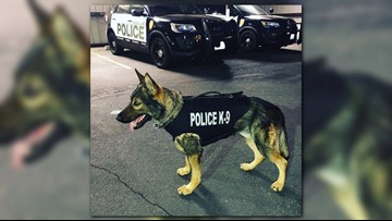 Nonprofit donates body armor for Moses Lake K-9 officer