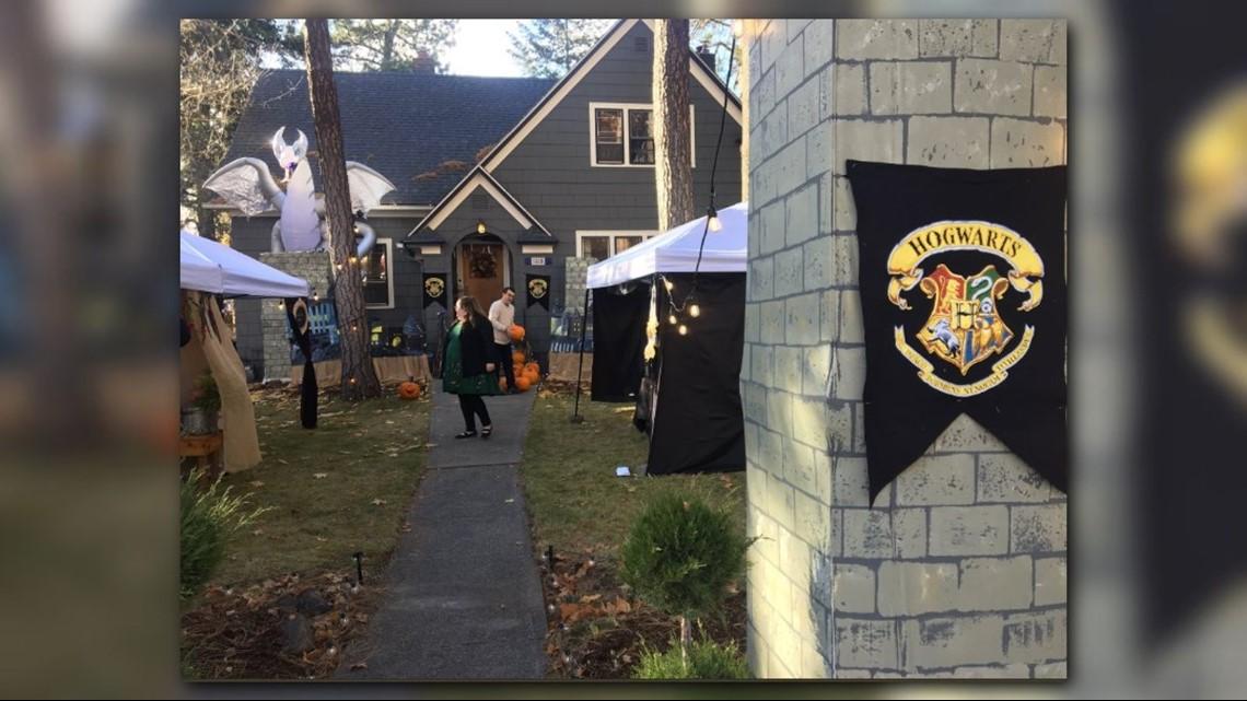 Halloween World Of Harry Potter Comes To Spokane Home