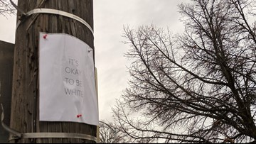 'It's okay to be white' fliers will remain on Univ. of Idaho bulletin boards