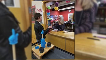 Spokane middle schoolers with disabilities deliver coffee, learn job skills