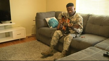 Fairchild airman was once famous musician in Togo, Africa
