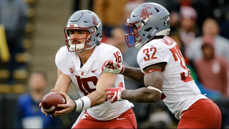 WSU's Minshew named Pac-12 Offensive Player of the Year, Leach named Coach of the Year