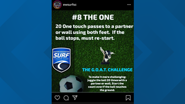 Eastern Washington soccer club turns to social media to stay active