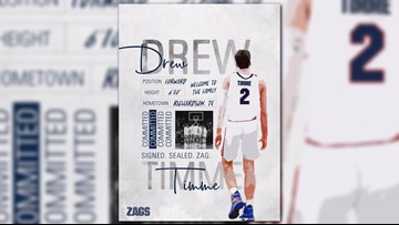 Gonzaga men's basketball lands Texas standout Drew Timme