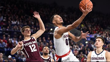 Norvell lifts No. 3 Gonzaga over Texas A&M 94-71
