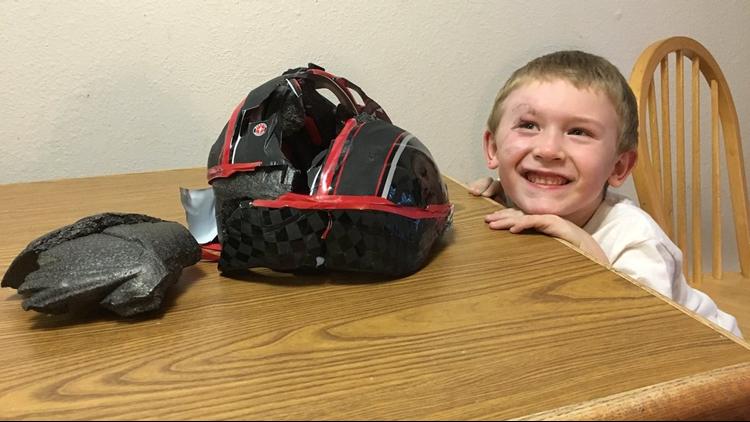 St. Maries boy says $20 helmet saved his life