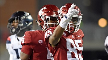 WSU football players tweet out favorite high school plays over the weekend