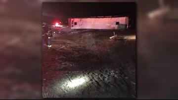 Driver in UW bus crash traveled too fast for conditions, WSP says