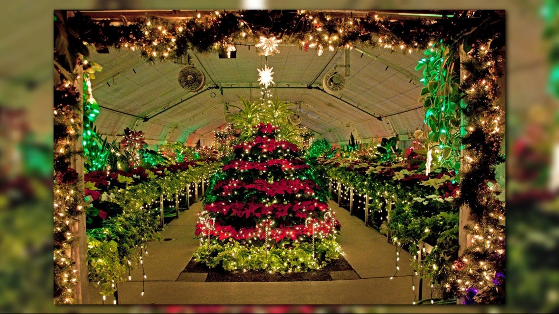 Manito Park Christmas Lights 2019 New Year's Eve marks last day to see Christmas lights at Manito