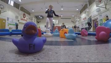 Spokane kindergartners improve math, literacy skills with movement