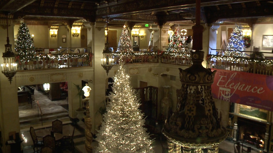Davenport Hotel Christmas Tree Elegance 2021 Christmas Tree Elegance Returns To Davenport And River Park Square Krem Com