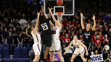 Smith leads Gonzaga over No. 8 Stanford 79-73