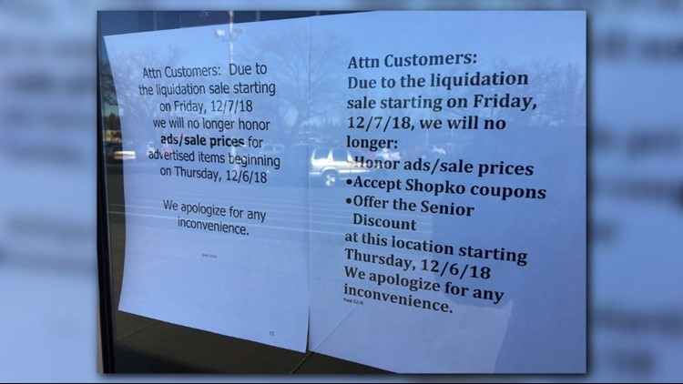 Pullman Shopko joins Spokane location closing in 2019
