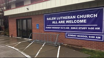 Salem Lutheran Church warming shelter opens Friday night