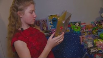Southern Idaho girl brings Christmas spirit, gifts to children in hospitals