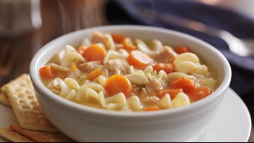 Chicken noodle soup really can help your cold