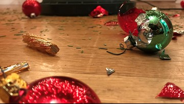 Spokane toddlers create Christmas tree chaos