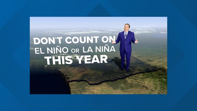 No El Nino, La Nina