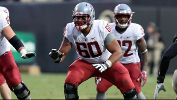 WSU's Andre Dillard drafted by the Philadelphia Eagles