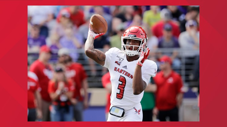 'I'm trying to do something special this year': EWU QB Eric Barriere coming back next season
