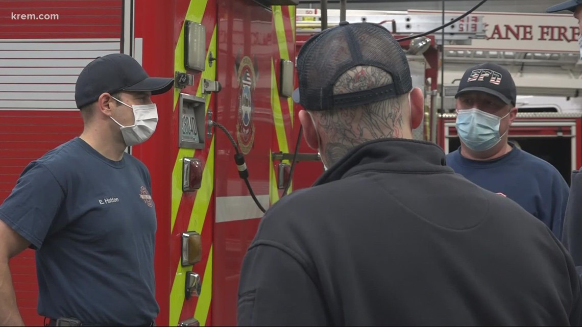 Tacoma Fire Department shares Spokane's volume of vaccine exemption requests. Here's why Spokane can't make the same accommodations