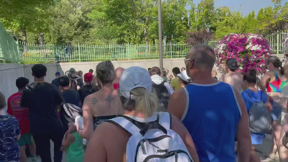 Silverwood Theme Park evacuation