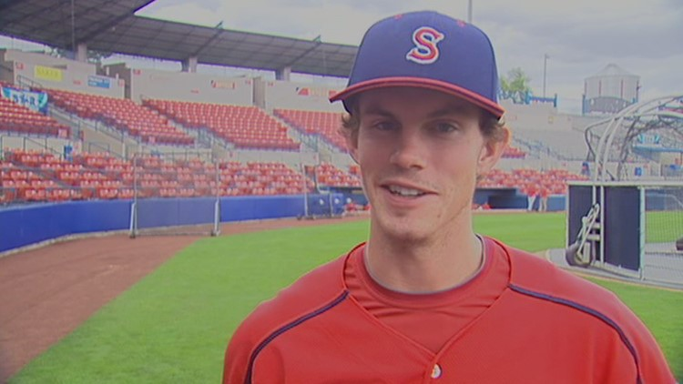Royce Bolinger earned a .301 batting average with 80 hits in his 2012 with Spokane.