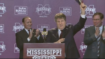 Mike Leach introduced as Mississippi State head coach