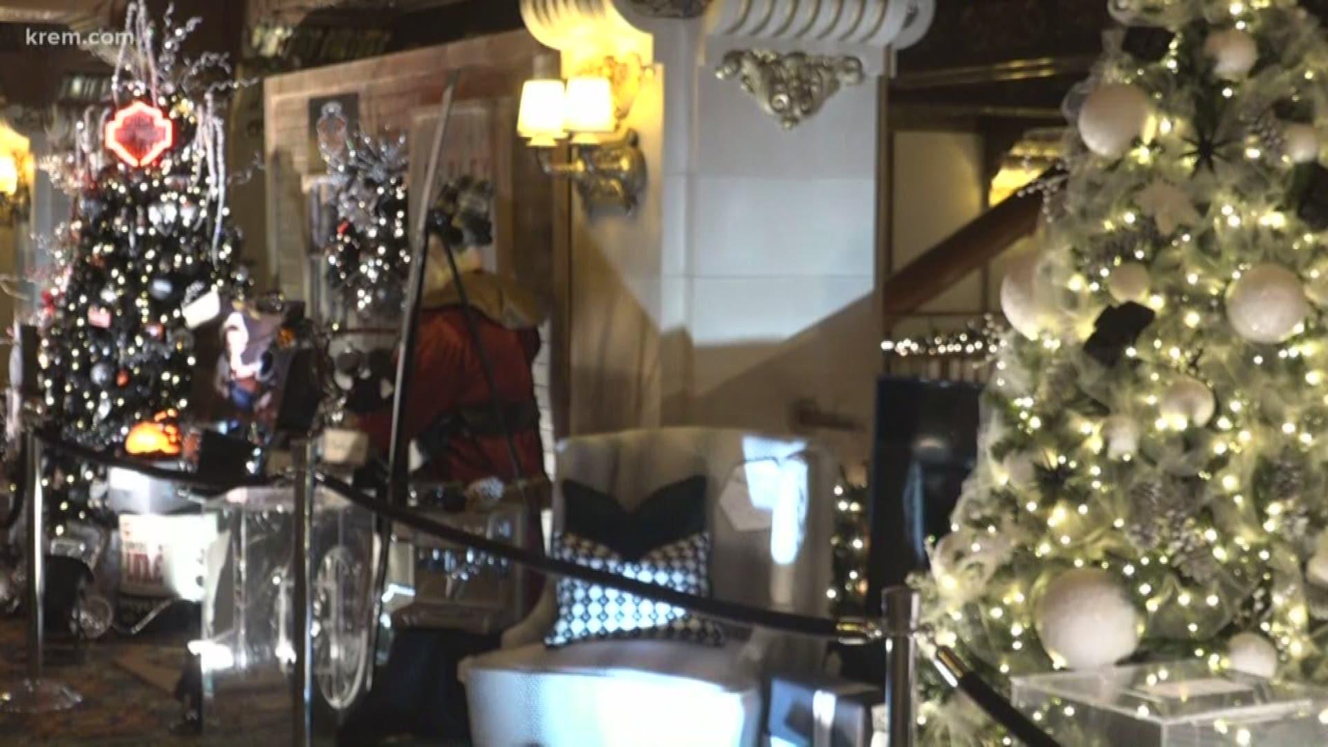 Valle Monte Christmas Tree Elegance 2020 Vidoe Christmas Tree Elegance returns to Davenport and River Park Square