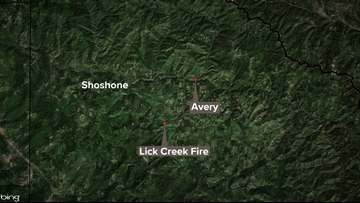 Lick Creek Fire in north Idaho burning 200 acres, no word on containment