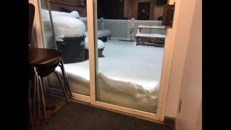 KREM 2 porch with snow