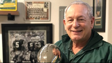 'It's a dream come true': Coeur d'Alene man in top 10 for Packers Fan Hall of Fame