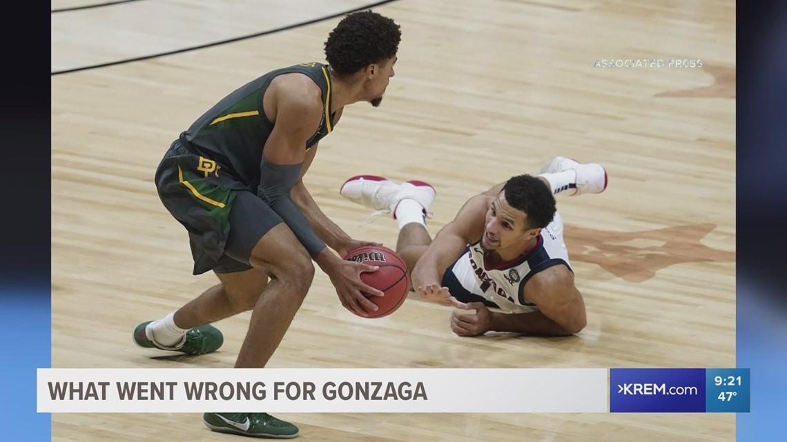 Gonzaga comes up short in national championship against Baylor 86-70