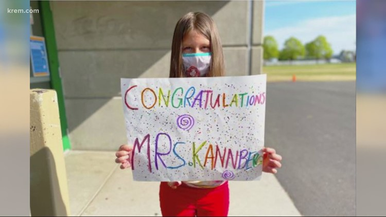 Regal Elementary School Principal earns doctorate degree and is celebrated by students