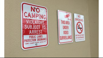 Spokane's sit-and-lie still in effect one year after Camp Hope