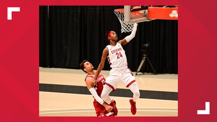 NCAA names WSU's Noah Williams National Player of the Week