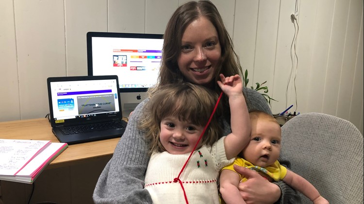 After maternity leave, a new world at KREM amid coronavirus